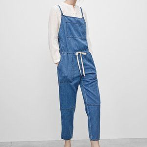 Wilfred Free Lizbeth Overalls Chambray Blue Comfy